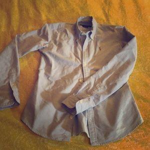 EUC button down polo shirt